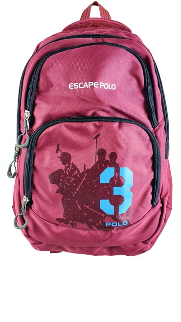 Escape Polo Sırt Çanta Bordo