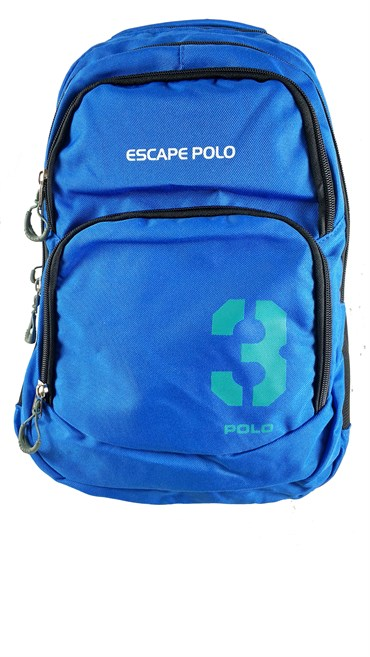 Escape Polo Sırt Çanta Mavi